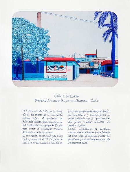 Andrea Canepa, Todas las calles del año, 2012 - 2015.